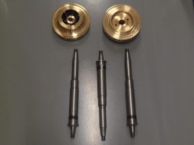 ejes e impeles bomba agua 528